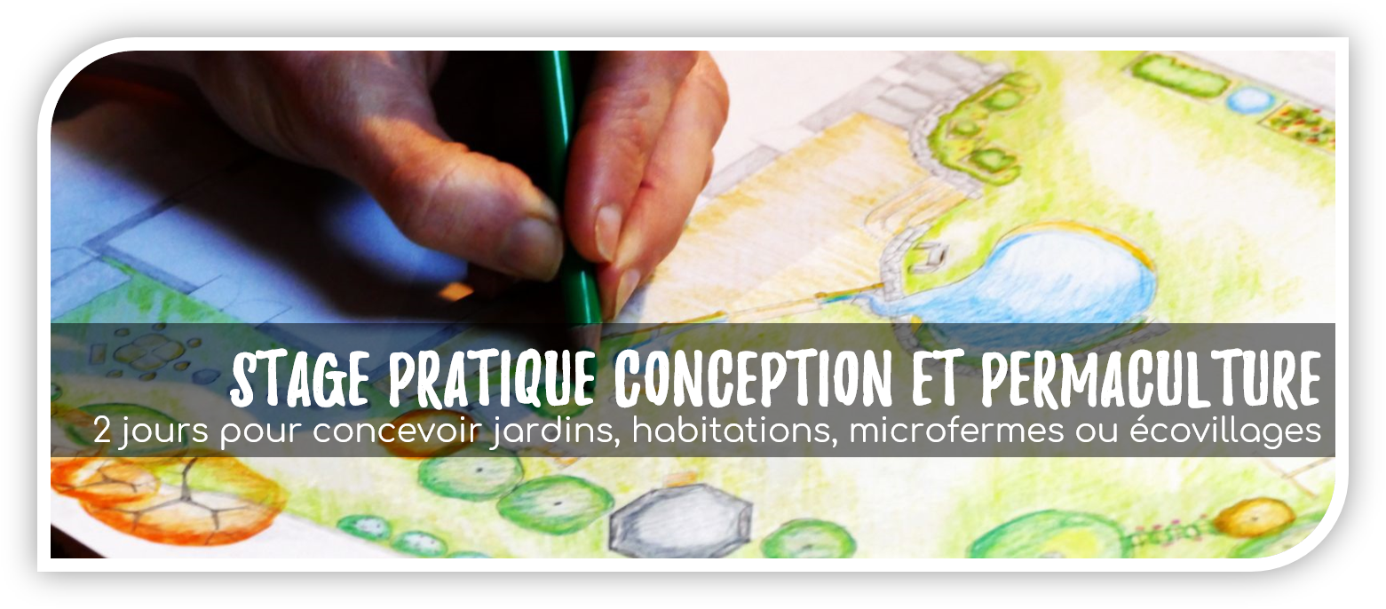 stage pratique conception permaculture