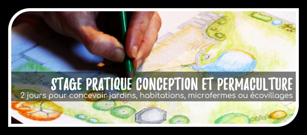 stage pratique conception permaculture